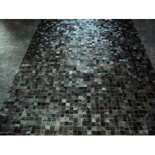 Reviews Patchwork Angola Black Area Rug By Modern Rugs