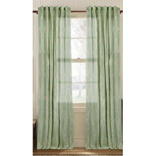 Seafoam Green Curtains