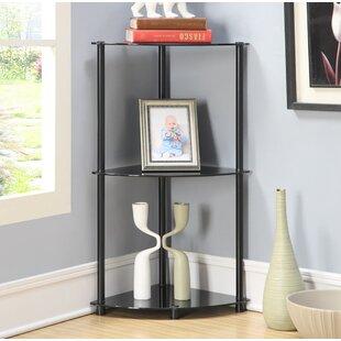 Ebern Designs Beckett Corner Unit Bookcase