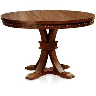 Burkett Round End Table by Gracie Oaks