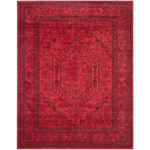 Nemisco Red Area Rug