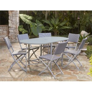 Slusser 7 Piece Dining Set