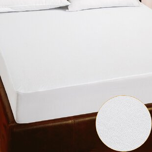 Hypoallergenic And Waterproof Mattress Protector By Symple Stuff