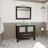 Lindon 36 Single Bathroom Vanity Set with Mirror by Orren Ellis