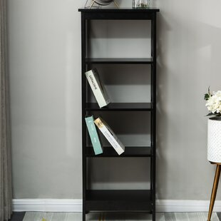 Traylor X-Sided Narrow Standard Bookcase by Breakwater Bay