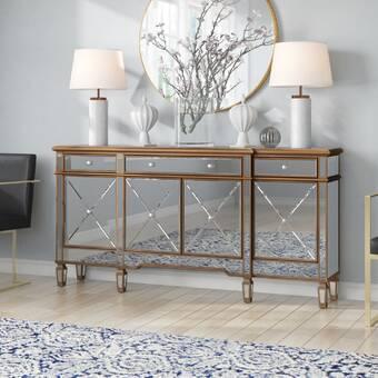 Allmodern 52 Wide 6 Drawer Sideboard Reviews Wayfair