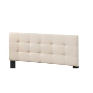 Inexpensive Saterfiel Upholstered Panel Headboard by Charlton Home
