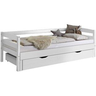 Bruno European Single Bed Frame By Harriet Bee