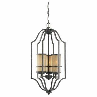 Darby Home Co Bale 3-Light Lantern Pendant