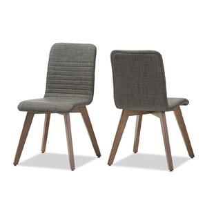 Selph Scandinavian Upholstered Dining Chair (Set of 2)