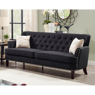Shop Quayle Chesterfield Sofa by Canora Grey