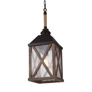 Compare Sandy Bay 1 Light Outdoor Hanging Lantern By Birch Lane™