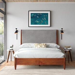 Mid Century Modern Platform style bed with storage option