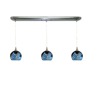 Chickerell Linear 3-Light Kitchen Island Pendant (Set of 3) by Wrought Studio