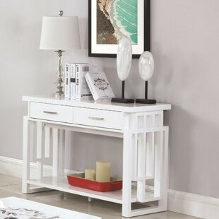 Noonday Contemporary Wooden Console Table
