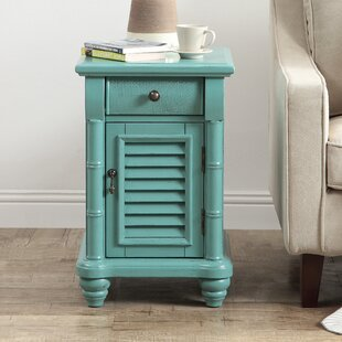 Searching for Nadler 1 Door 1 Drawer End Table By Rosecliff Heights