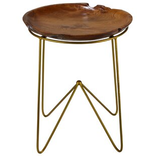 Paolo End Table by Bare Decor Best Choices