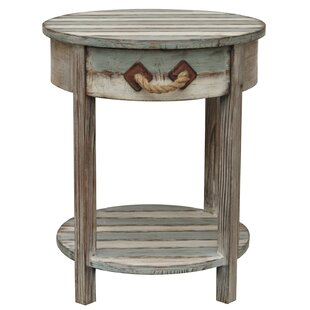 Rushmore Wood End Table I by Beachcrest Home
