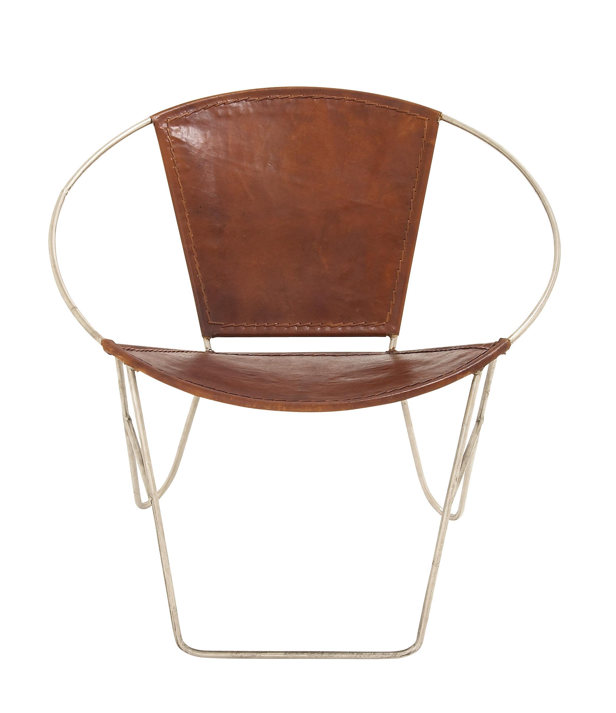 Cole U0026 Grey Metal Papasan Chair U0026 Reviews | Wayfair