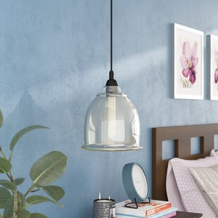 Latitude Run Turney 1-Light Bell Pendant