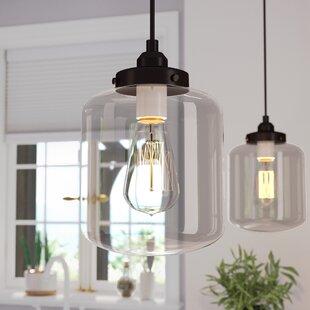 Timnath 1 Light Jar Pendant