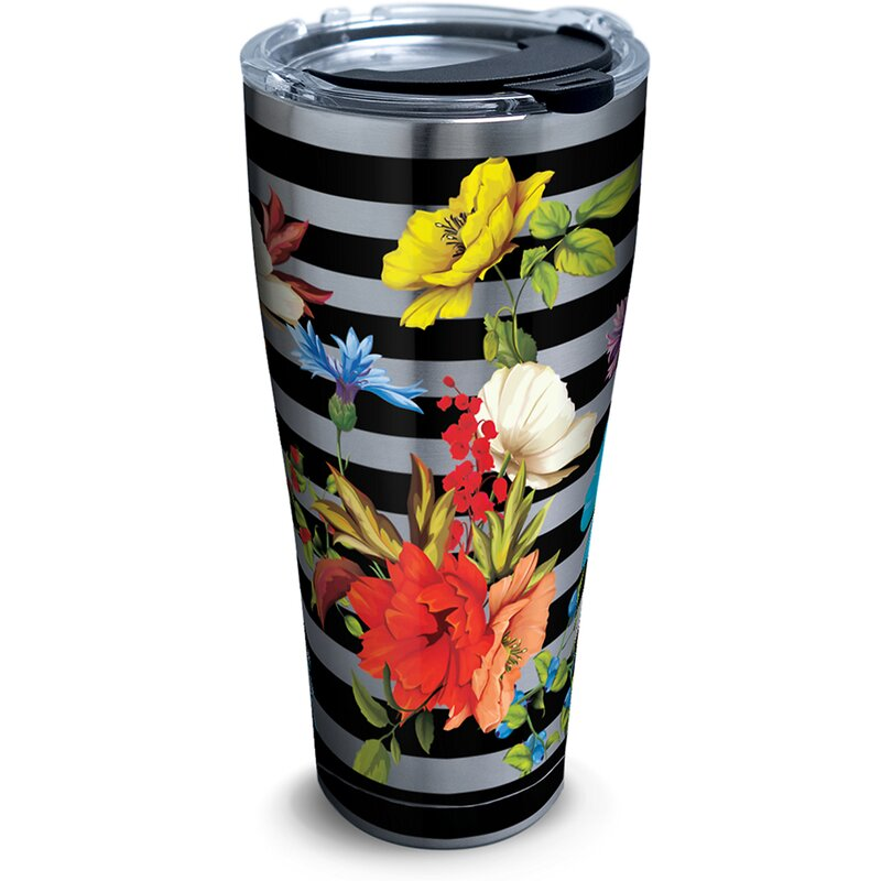 Tervis Tumbler Botanical 30 Oz Stainless Steel Travel Tumbler Wayfair