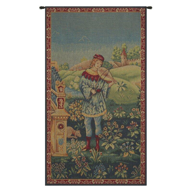 Astoria Grand Blended Fabric Le Troubadour Tapestry Wayfair