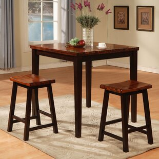 3 Piece Counter Height Pub Table Set Wildon Home®