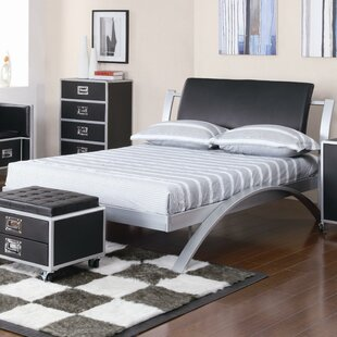 Crezee Contemporary Full Sleigh Bed