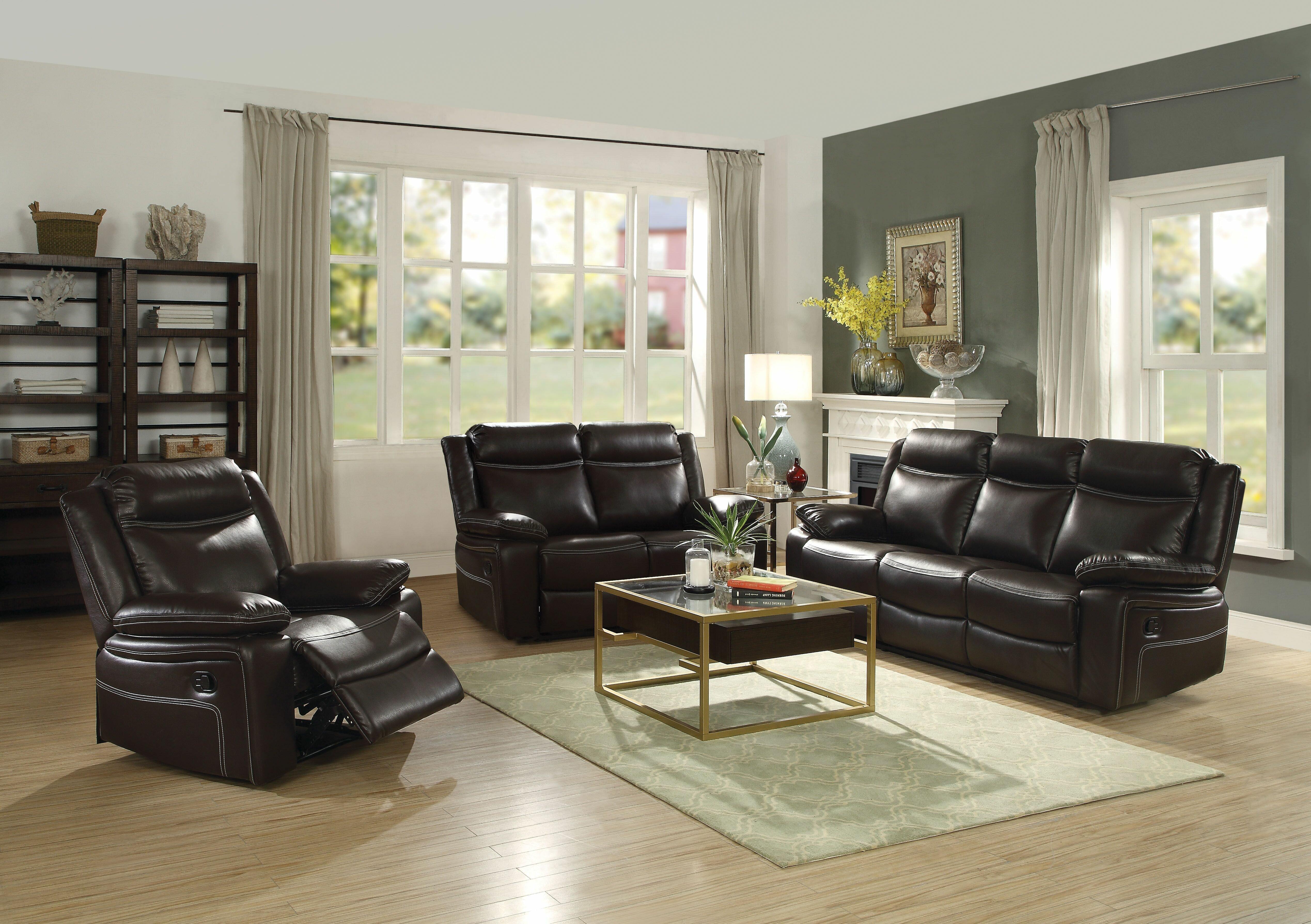 Henslee Reclining Configurable Living Room Set