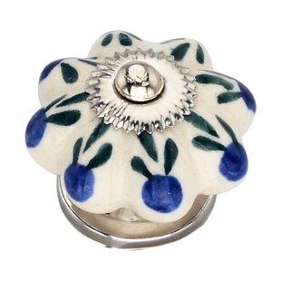Handpainted Azalea Novelty Knob (Set of 8)