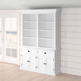 Amityville Modern Oversized Set Bookcase Beachcrest Home