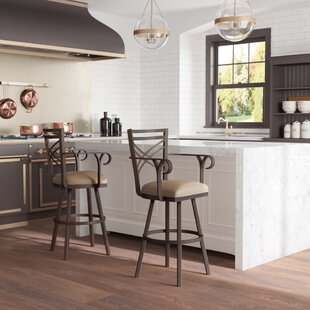 Berkhamsted 30 Swivel Bar Stool Winston Porter