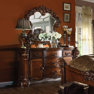 Welles 5 Drawer Dresser with Mirror