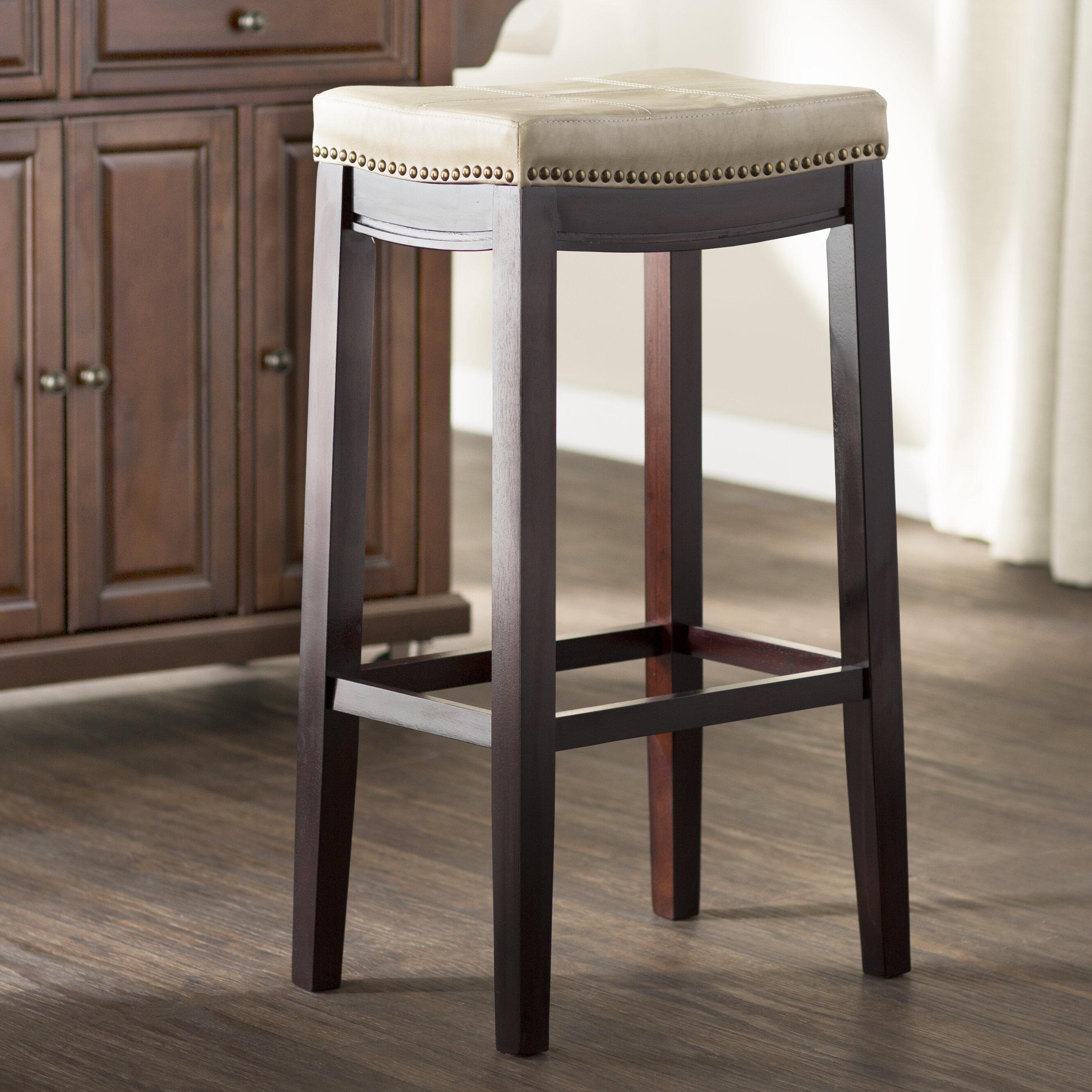 Three posts russett 32 bar stool reviews wayfair