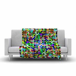 Trebam Zumbati Multicolor Digital Fleece Blanket ByEast Urban Home