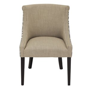 Fabric Arm Chair by Adeco Trading