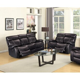 Darshan Reclining 2 Piece Living Room Set by