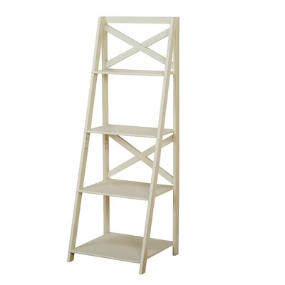 Alfred Ladder Bookcase by Beachcrest Home