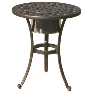 Mckinney Round Side Table by Astoria Grand Discount