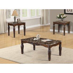 Fleur De Lis Living Craig 3 Piece Coffee Table Set
