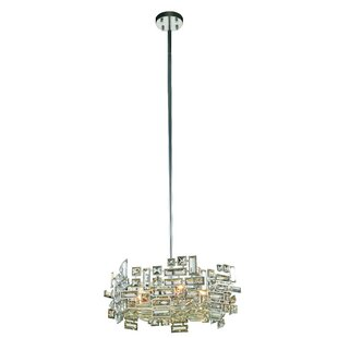 Nancee 6-Light Crystal Chandelier by Ever..