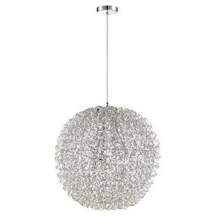 Orren Ellis Coletta 6-Light Globe Chandelier
