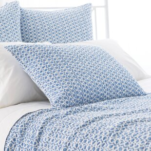 Tyler Quilted Sham by Pine Cone Hill