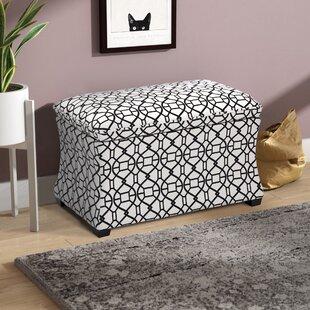 Metompkin Upholstered Flip Top Storage Bench