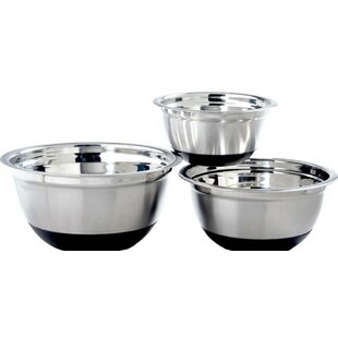 Anti Skid 3 Piece Mixing Bowl Set