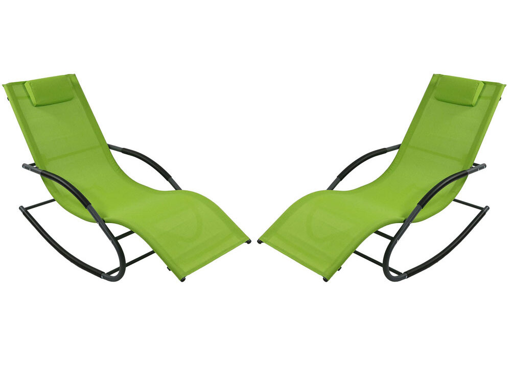 Stupendous Winston Porter Warfel Rocking Wave Sun Lounger Set Reviews Forskolin Free Trial Chair Design Images Forskolin Free Trialorg
