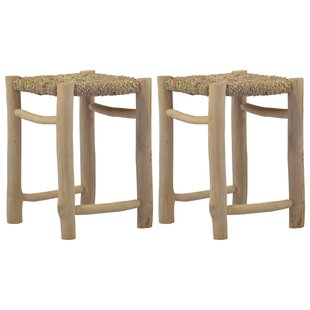 Fogel Stool (Set Of 2) By Beachcrest Home
