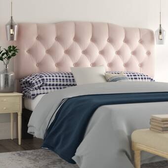Darby Home Co Basco Button Tufted Upholstered Panel Headboard Reviews Wayfair