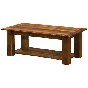 Fireside Lodge Barnwood Open Coffee Table